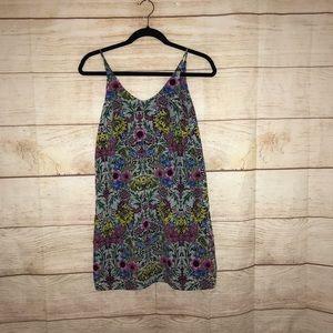 TOPSHOP size 2 floral mini dress